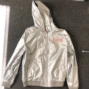 Hunter Metallic Rain Jacket